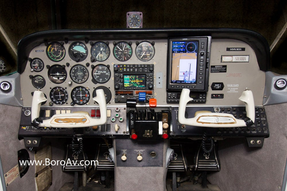 Beechcraft Sierra, N953ER - our fleet - track on radar