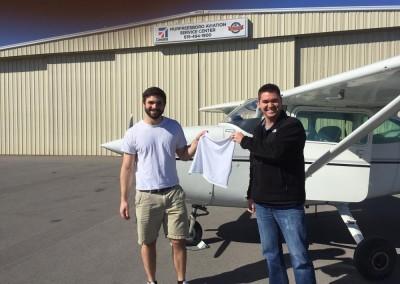 shirt tail image first flight murfreesboro aviation
