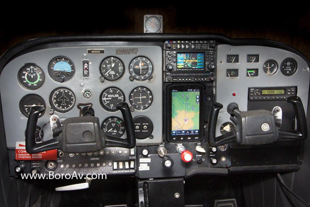 Cessna C172M Track N20046 on Radar - fleet