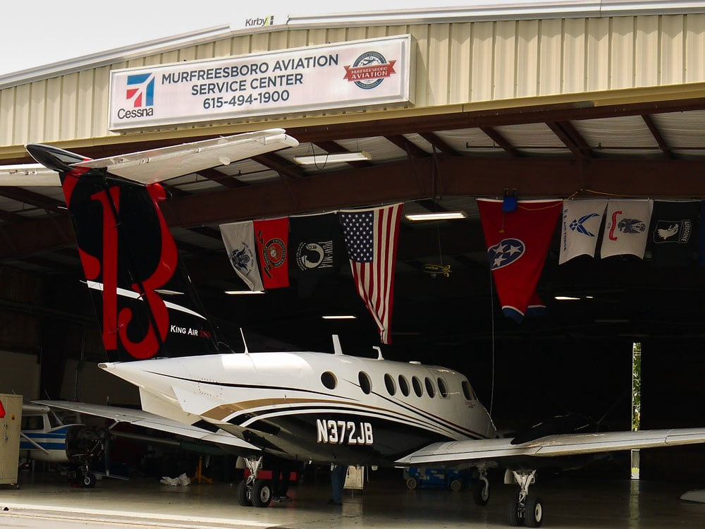 Maintenance Capabilities - Murfreesboro Aviation - Maintain Aircraft