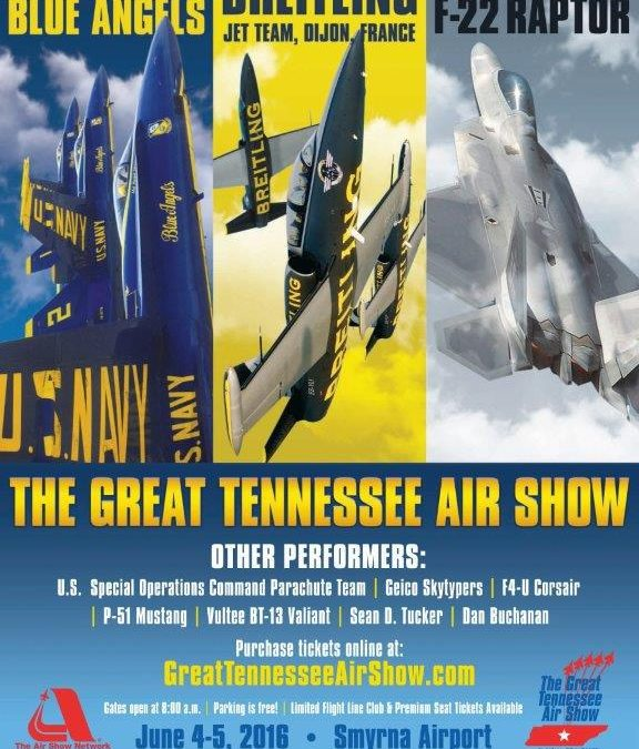 Murfreesboro Aviation to Display at The Great Tennessee Airshow!