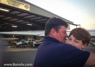 Tyler Gardner Earns Private Rating! - Murfreesboro Aviation - Learn to Fly