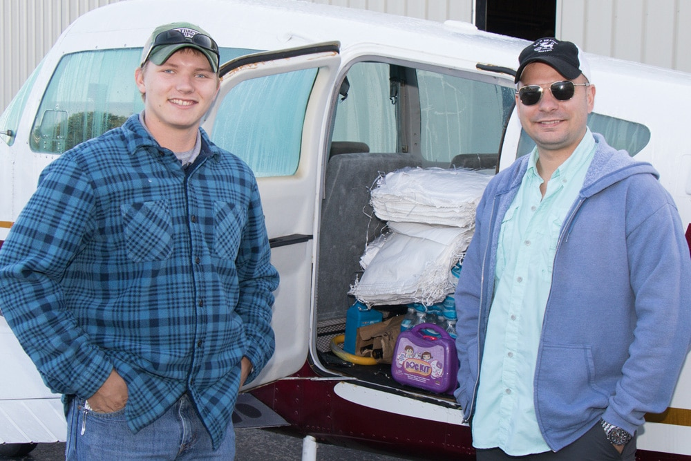 Murfreesboro Aviation flies supplies to Veteran Families in path of Hurricane Irma