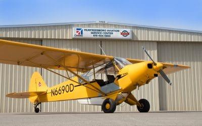 1954 Piper L-21B Super Cub!