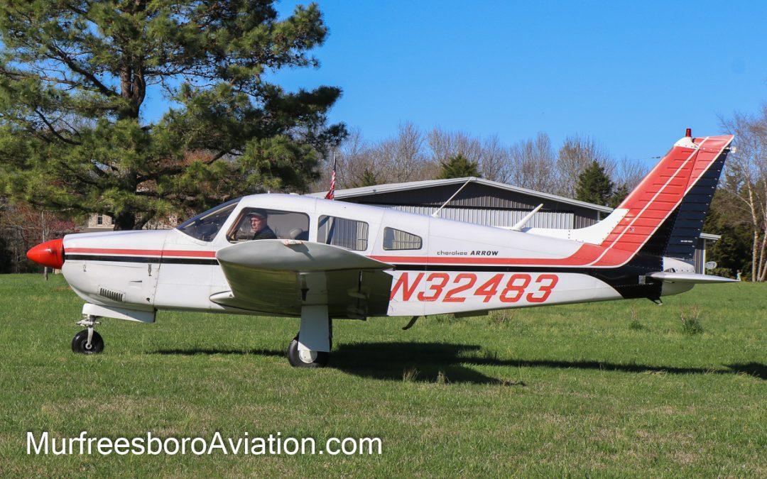 1974 Piper Arrow II N32483