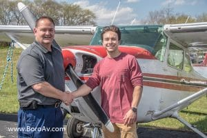 TOM TIPPIN, SON OF AARON TIPPEN, EARNS PRIVATE PILOT LICENSE AT MURFREESBORO AVIATION